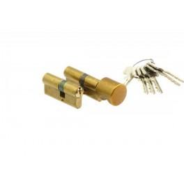 Komplet wkładek WILKA 40/50 klasa B - system jednego klucza