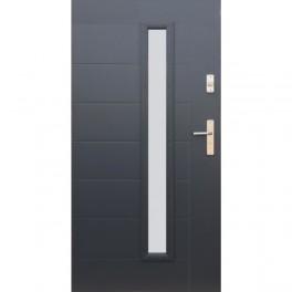 Drzwi zewnętrzne stalowe WIKĘD wzór 42