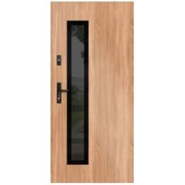 Drzwi zewnętrzne stalowe WIKĘD GLASS DESIGN GD01B