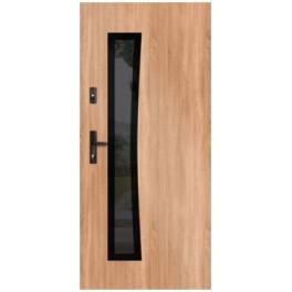 Drzwi zewnętrzne stalowe WIKĘD GLASS DESIGN GD02B