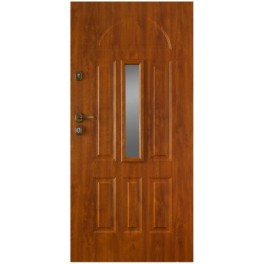 Drzwi zewnętrzne metalowe Gerda GTT klasy 2 W91 Werona 1